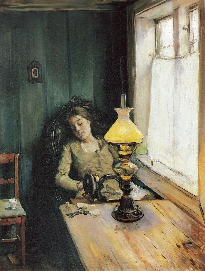 Norwegian history, Christian Krohg, Searching for Nora