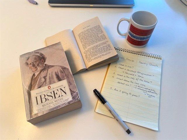 Henrik Ibsen, Doll's House, Norwegian Americans